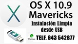 Usb instalaciÓn mac osx mavericks - foto
