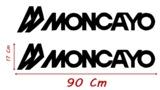 VINILOS MONCAYO CARAVANA PEGATINAS 90 CM - foto