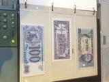 85 billetes internacionales - foto