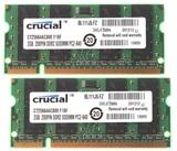 Crucial 2 GB PC2-6400 DDR2-800MHz - foto