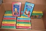 Colección VHS de barrio Sésamo. - foto