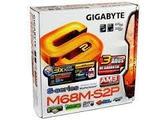 Placa Base Gigabyte GA-M68M-S2P - foto