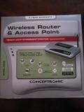 Router-punto de acceso nuevo Conceptroni - foto