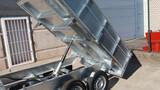 Remolque hidraulico galvanizado aluminio - foto