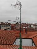 Colocar torreta de tv en tejado - foto