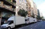 Transportista en barcelona - foto