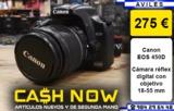 canon eos 450d + 18-55mm - foto