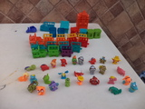 lote zomlings 27 + accesorios + 27 muñec - foto