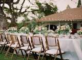 sillas plegables de bambú alquiler - foto