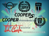 pegatina mini cooper - foto