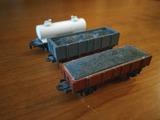 3 vagones mercancias Guisval - foto