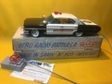Antiguo coche patrulla de rico años 60 - foto