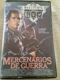 Película vhs  Mercenarios de Guerra - foto