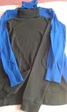 --// 5 jerseys  de cuello vuelto, punto - foto