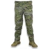 Pantalon camuflaje verde - foto