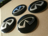 Logos de pegar relieve 3d infiniti - foto