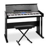Piano digital+ soporte+ asiento todo new - foto