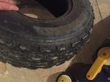 neumático quad - foto