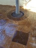 reparamos suelos de hormigon impreso - foto