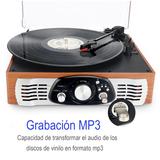 Tocadiscos con Conversión a MP3 NUEVO - foto