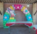 Decoración con globos. Fiestas y cumples - foto