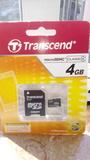 Tarjeta memoria micro SDHC 4GB nueva - foto