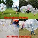 fútbol burbuja - foto