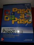 MICROSOFT PROJECT 2003 PASO A PASO - foto