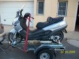 Se alquilan remolques coche y moto - foto