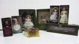 5 muÑecas harrods + accesorios en caja - foto