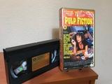 Pulp Fiction vhs - foto