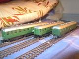 3 vagones pasajeros db escala n arnold - foto