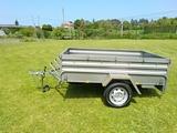 Remolque mixto carga 750 kg - foto