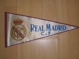 Banderín del Real Madrid club de futbol, - foto