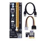 PCI Express Riser 1x to 16x USB 3.0 60cm - foto