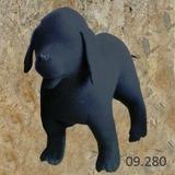 Maniqui perro pastor en pie - foto