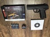 Pack Pistola Gamo PX107 Co2 calibre 4.5. - foto