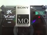 9 Magneto Optical Disk MO DISK La Caixa - foto