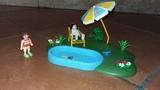 Playmobil. Set de piscina - foto