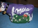 Hucha Vaca MILKA. Chocolate. 22 x 15 cm. - foto