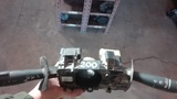 mando luces y limpia parabrisas megane I - foto