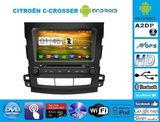 RADIO ANDROID GPS DVD CITROEN C-CROSSER - foto