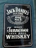 Jack Daniel s publicidad en chapa - foto