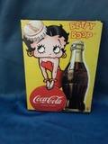 Cartel de Coca-Cola Betty Boop - foto