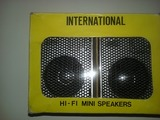 Altavoces internatinal mini - foto