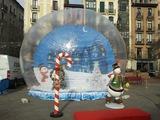 decoracion navidad/ nieve - foto