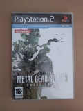 Metal Gear Solid 3 Snake Eater Ps2 - foto