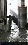 perforaciones hormigón y tarima - foto