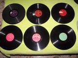 lote de 26 discos pizarra de gramola - foto