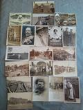 Lote 61 postales Reino Unido antiguas - foto